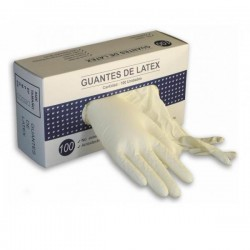 Guantes Latex 100uds